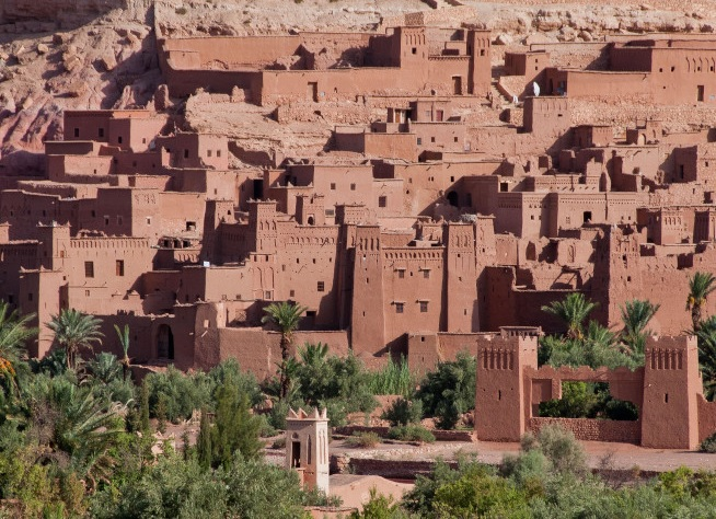 Entrance to a Kasbah