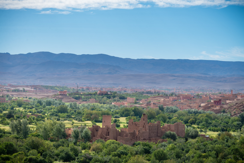 view of Ouarzazate as part of a day trip