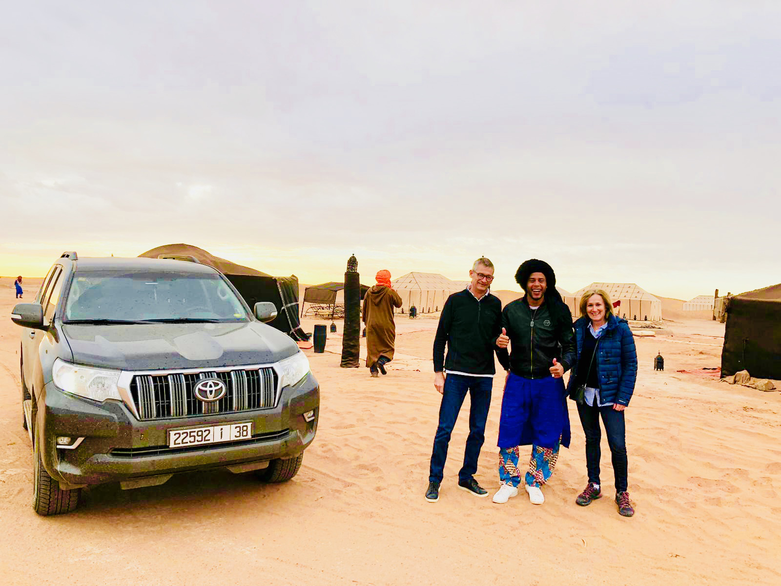 Morocco Sunny Days 4x4 in the desert with guests